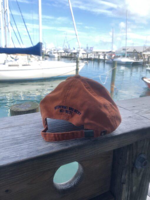 key west pelican hat back