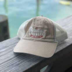 waterfront brewery mesh hat